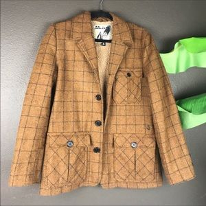 Volcom | Plaid Wool Jacket